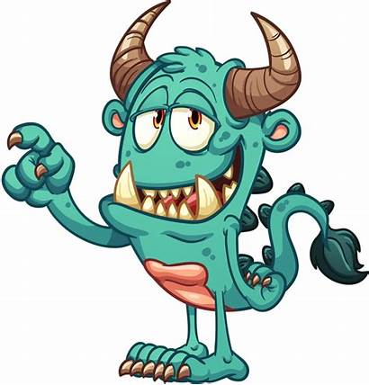 Monsters Cartoon Monster Clipart Funny Scary Characters