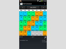 Shift Calendar Shift Roster Android Apps on Google Play