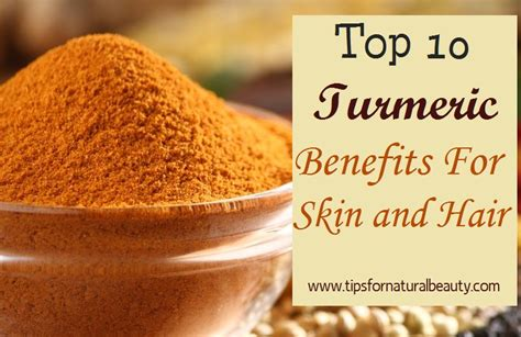 Amazing Turmeric Benefits For Youthful Skin & Great Hair