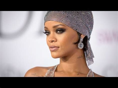 rihanna  cfda awards makeup tutorial youtube