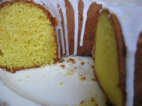 lemon supreme pound cake  simple lemon icingglaze recipe