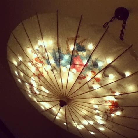Hanging Decorations - paper umbrella light hanging pretty things umbrella
