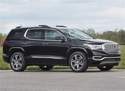 Chevy Acadia 2017 by Redesigned 2017 Gmc Acadia Goes On A Diet Consumer Reports