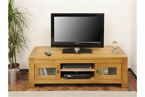 Meuble Chene Clair : meuble tv bas chene clair en ligne ~ Edinachiropracticcenter.com Idées de Décoration
