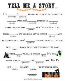 Halloween Mad Libs Online halloween activities