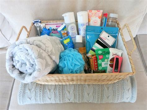 Houseguest Welcome Basket For Visitors