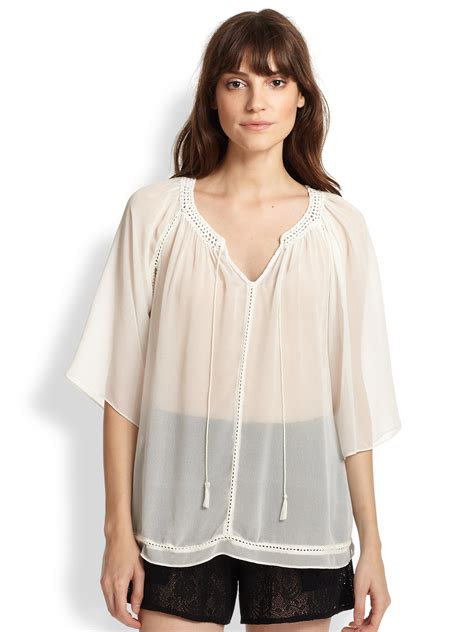 sheer white blouse topshop sheer white blouse 39 s lace blouses
