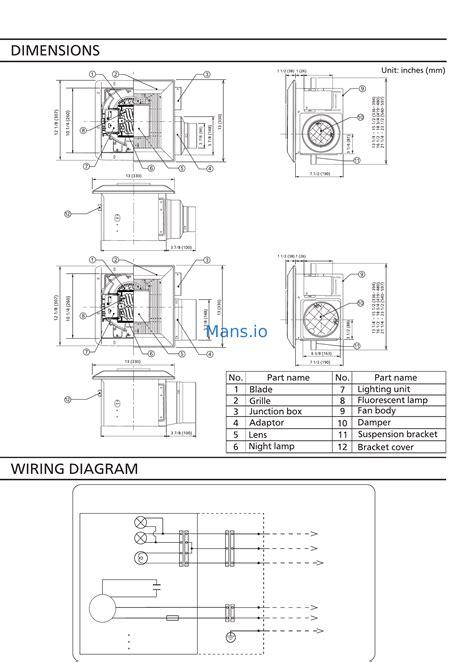 panasonic fv 11vql6 installation page 5