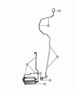 2007 Chrysler Aspen Hose  Vacuum  Natural Leak Detection