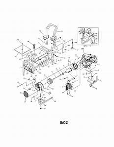 580 327141 Craftsman 7 8 Hp 4200 Watt Ac Generator