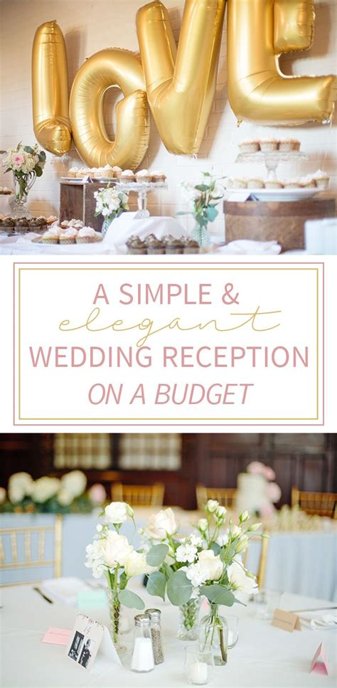 Wedding Decorations On A Budget by 25 Best Ideas About Budget Wedding Receptions On