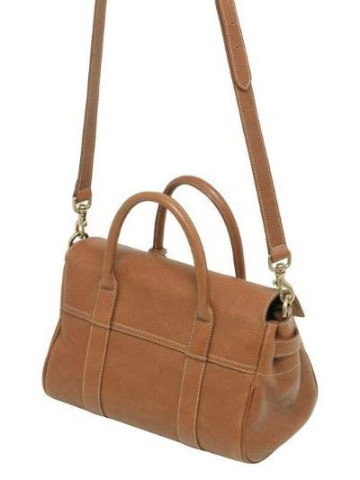 gc leather 4 8cm mulberry small bayswater leather bag in brown lyst