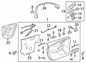 Chevrolet Impala Door Switch Trim Panel  W  O Memory Pkg