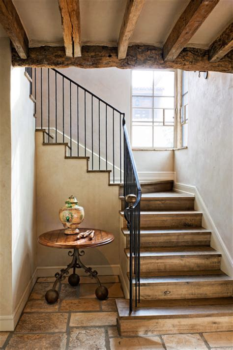 Simple Plan Of Stairs Ideas Photo by Oz Architects Rustic Staircase By Don Ziebell
