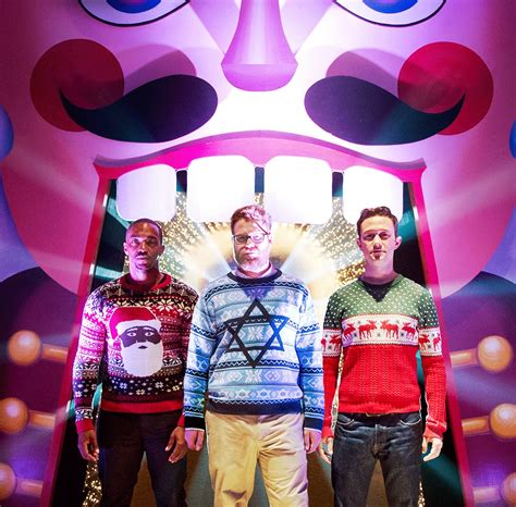Deck The Halls! Our Christmas Jumpers Spotted In New Seth Rogan Film! Truffleshufflecom