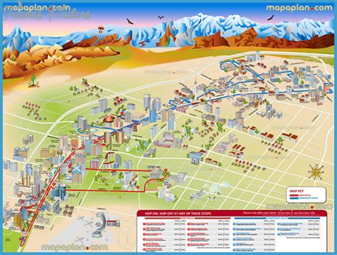 Las Vegas Map For Tourist   TravelsFinders.Com
