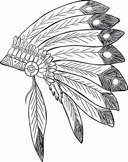 Headdress Drawing Clipart Getdrawings