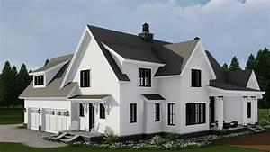 MODERN FARMHOUSE HOUSE PLAN 098-00296 - YouTube