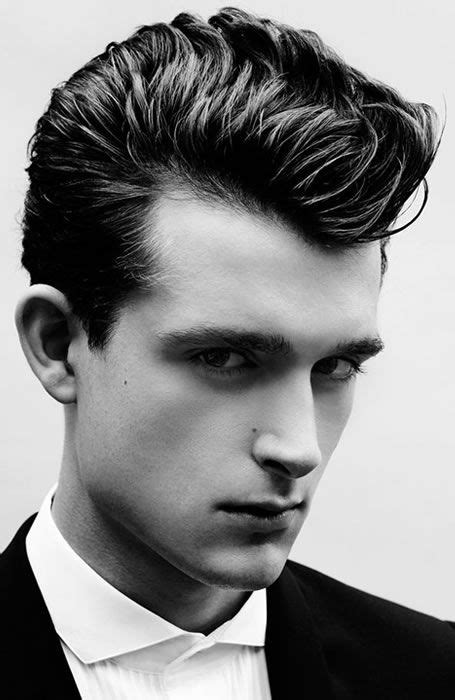 Mens Hairstyles Of The 1950s by 33 Dope Pompadour Hairstyles Undercuts Japanese Cuts