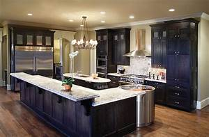 Black cabinets white countertops white kitchen cabinets for Kitchen designs with white cabinets and black countertops