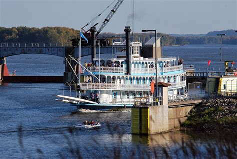 4 Day Mississippi River Boat Cruise by 42n Observations Twilight Riverboat Recalls Olden Days On