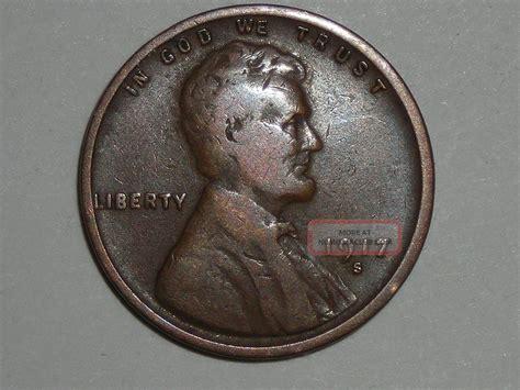 Wheat Penny 1917s Great Details 1917