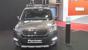 Peugeot Partner Tepee Outdoor 2016 : peugeot partner new tepee outdoor 1 6 bluehdi 100 bvm5 e6 2016 exterior and interior youtube ~ Maxctalentgroup.com Avis de Voitures
