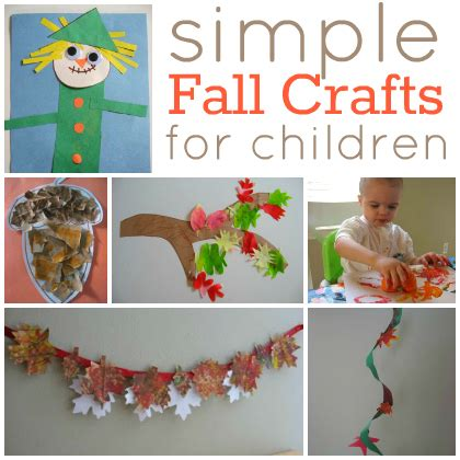 easy fall crafts for 668 | fall crafts for kids