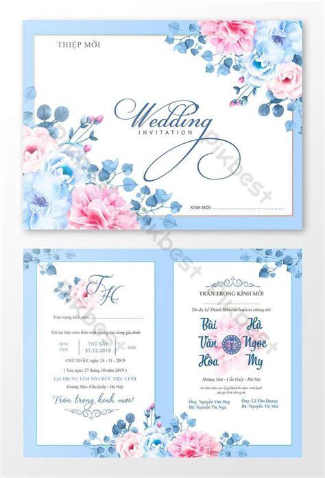 Wedding invitation card design happy wedding invitation