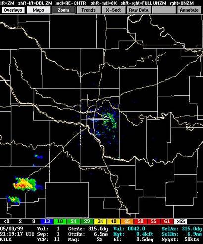 1999 Radar Weather Tornado Outbreak Loop Plains