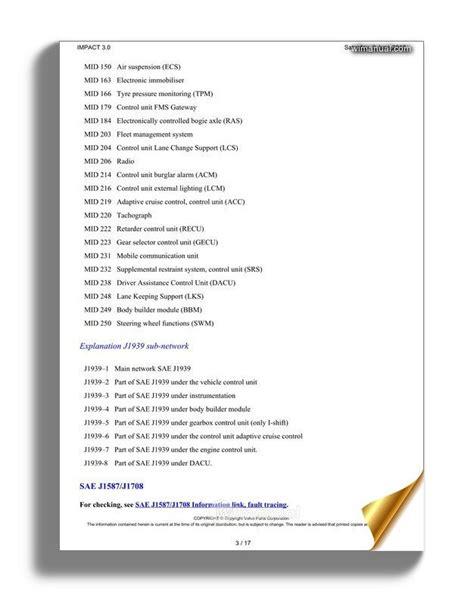 Volvo Truck Wiring Diagram Link