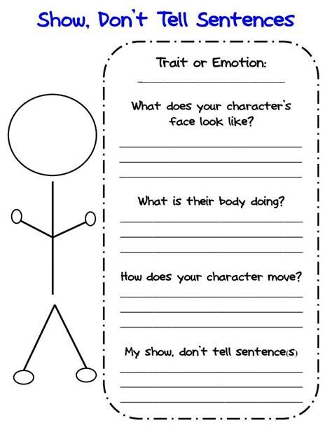 grade writing worksheets personal narrative graphic