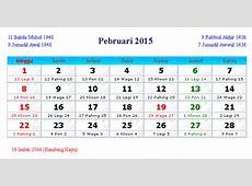 Daftar Hari besar dan Hari Libur Februari 2015