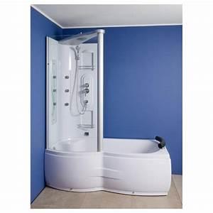 Baignoire Douche Dimension : combin douche baignoire corida 170 cm coin gauche zb67284l ~ Premium-room.com Idées de Décoration