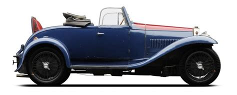 Bugatti Type 40a 1931 (or Otherwise Known (in The Dance