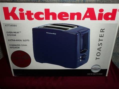 Kitchenaid Toaster Blue by Kitchen Aid Toaster Nib Navy Blue Ebay