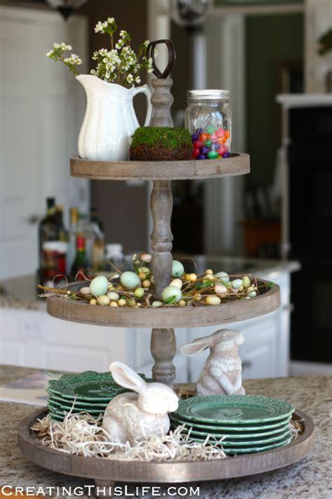 spring tray creating  life