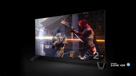 ecran gaming 4k nvidia is creating 65 inch 4k hdr gaming displays with 120hz g sync the verge