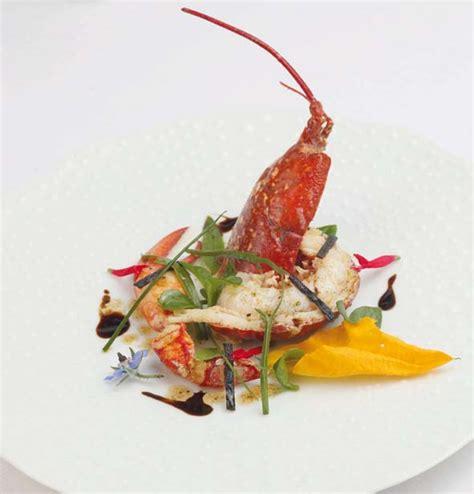 cuisiner les courgettes salade de homard bleu combawa et vanille savoir cuisiner fr