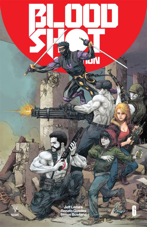 bloodshot salvation  issue
