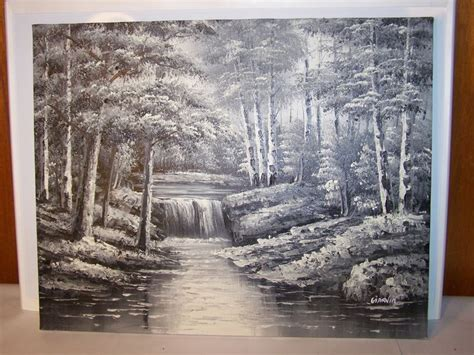 1000+ Ideas About Waterfall Paintings On Pinterest