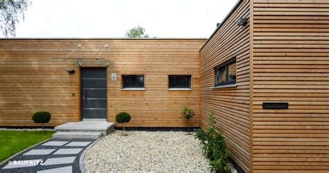 Holzhaus Bungalow Modern by Modern Bungalow The Single Storey Home Baufritz