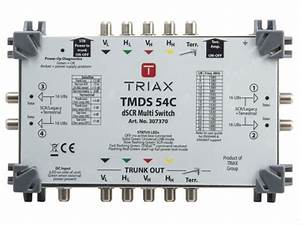 Triax Skyq Multiswitch Dscr Tmds54c