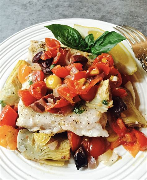 grouper baked artichokes tomatoes recipe fish recipes dish easy tallahassee blogs community gritsandpinecones quick fresh dinner