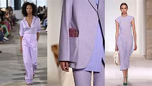 Spring 2018 Color Trends with Purple, Lilac, Violet