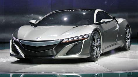 Acura NSX Concept - 2015 Honda Top Car : Editorial Video ...