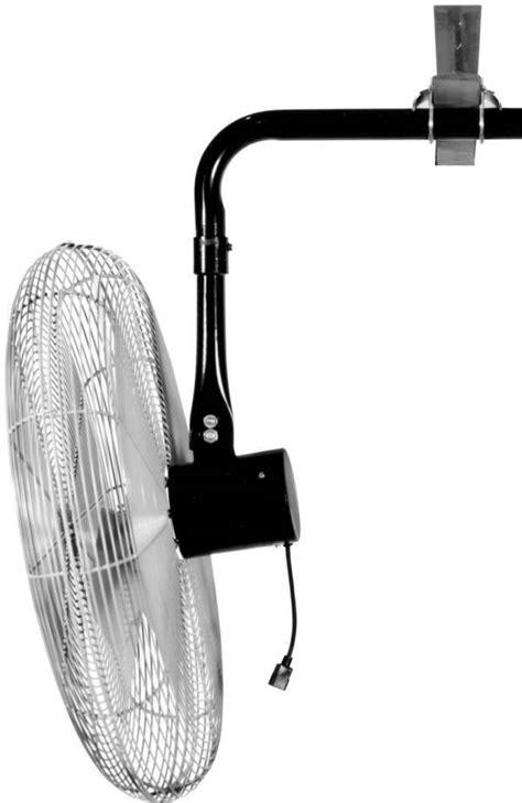 qmark lchhd series heavy duty oscillating air circulator fan