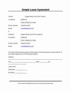 simple lease agreement hashdoc With simple land lease agreement template
