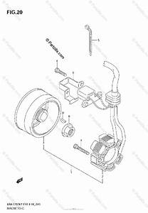 Suzuki Motorcycle 2008 Oem Parts Diagram For Magneto