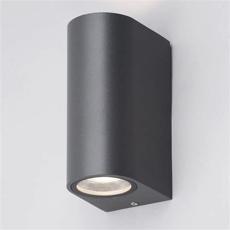 irwell up light outdoor wall light black from